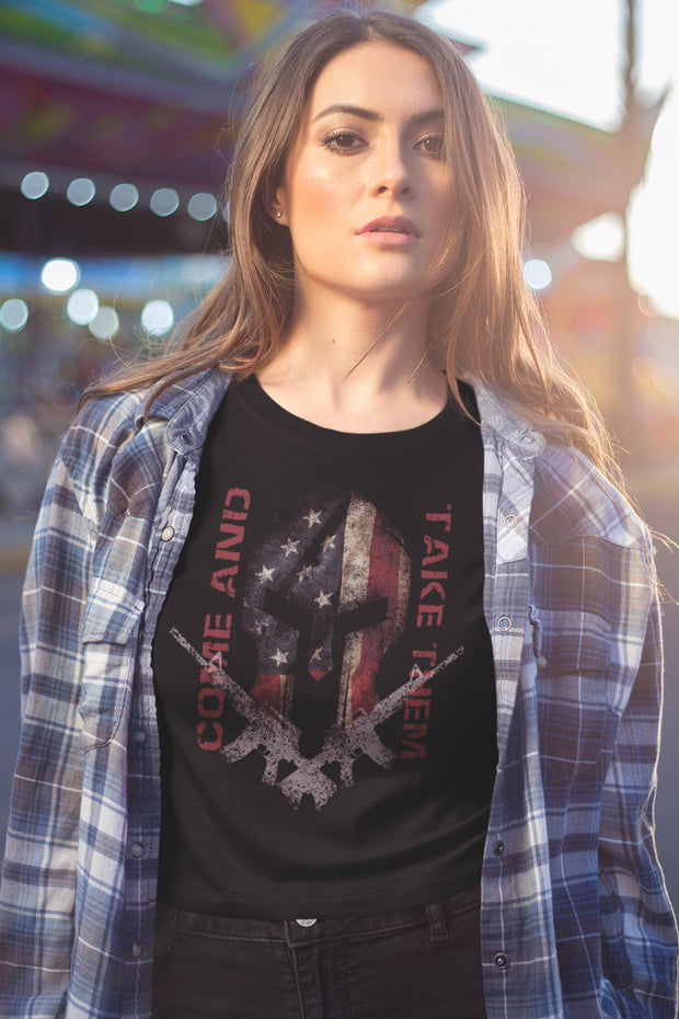 Spartan - Come and Take Them - Women's T-Shirt