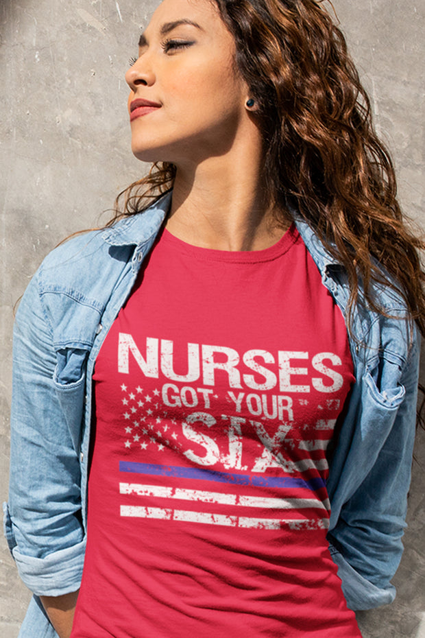 Nurse's Got Your Six Women's T-Shirt