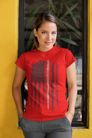 Thin Gray Line T-Shirt - Womens