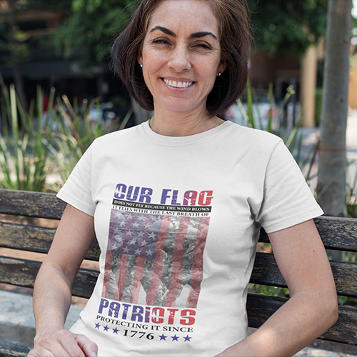 Womans Our Flag - T-Shirt