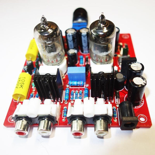 Mini 6J2/6J1 Vacuum Tube HiFi Tube Audio Preamplifier wide voltage