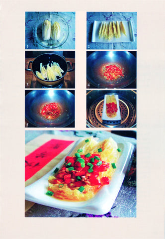 Delicious Chinese food 40 kinds of Chinese cooking instructions, cold salad, steamed, hot fried, slightly cooked recipe 5