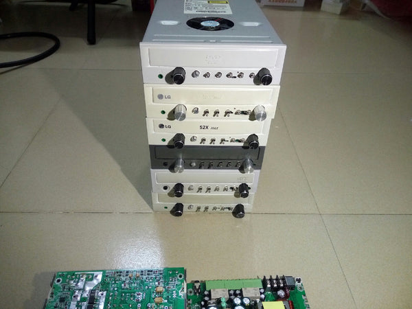 NJW0281 power amplifier, optical drive box modified discrete power amplifier