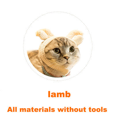 Lamb Cat headgear material