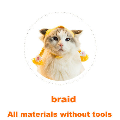 Braid Cat headgear material