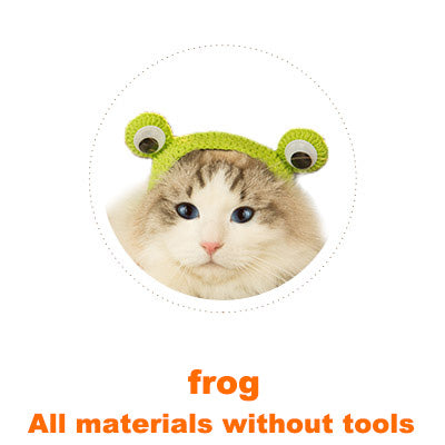 Frog Cat headgear material
