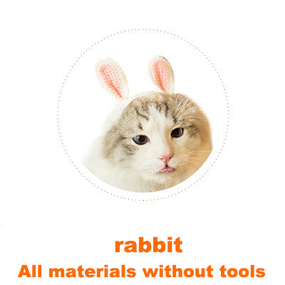 Rabbit Cat headgear material