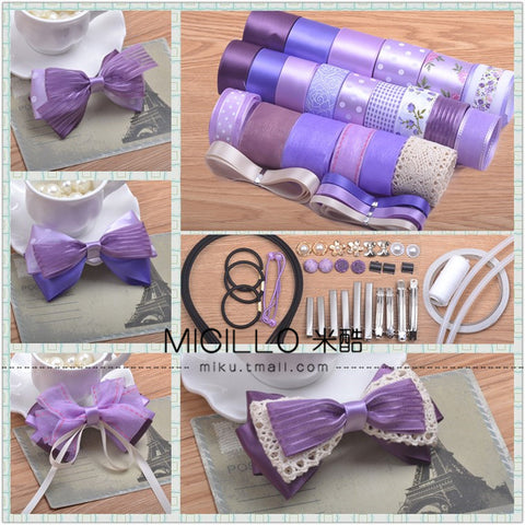 Purple B handmade hair accessories
