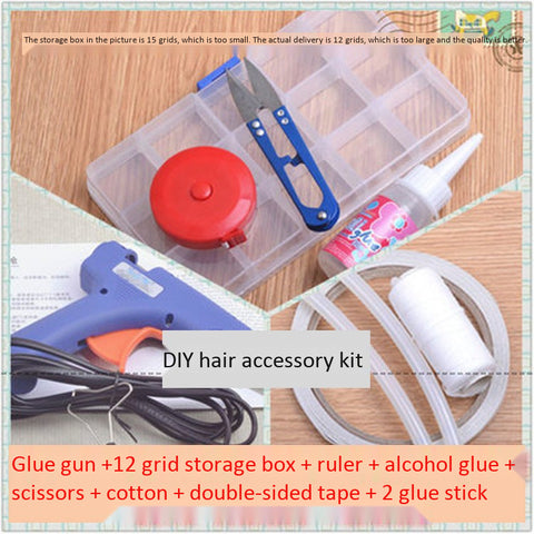 Eight sets of tools handmade hair accessories hairpin diy material accessories package