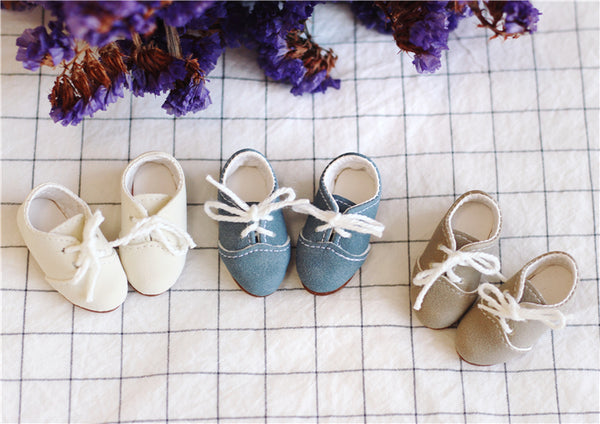 Men and women doll wild retro flat shoes BJD shoes yosd 1/6 imda3.0