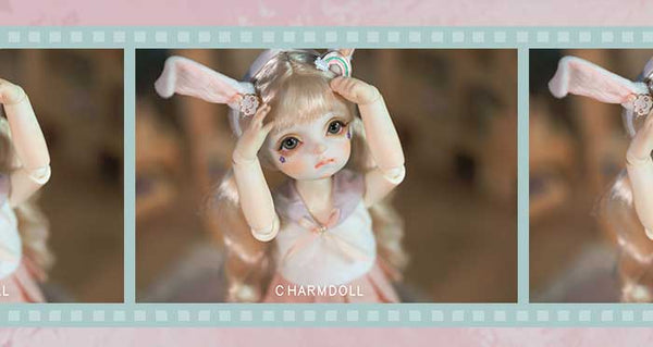 [CharmDoll / CD] BJD baby clothes skirt 1 / 6 bubble official clothes 26CM
