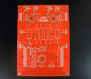Hifi tube preamp PCB, empty printed