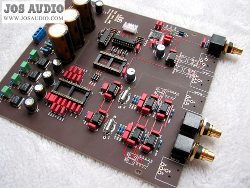 Hifi TDA1541 DAC decoder board semi-finished board