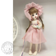 Load image into Gallery viewer, BJD baby clothes material package 1/3 1/4 1/6 1/8 ob11 small cloth MSD Han element dress set