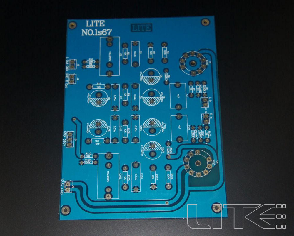 Tube preamp PCB blank board 5755