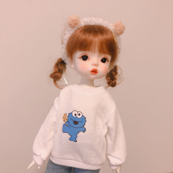Bjd 1/6 yosd big six points doll clothes sweater tops only one piece per pattern