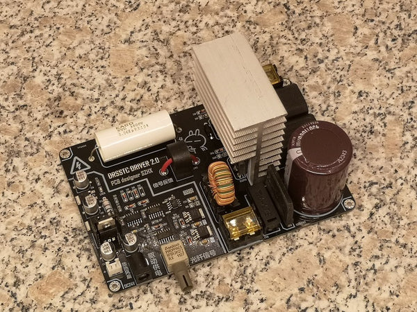 Integrated DRSSTC driver board ,music Tesla coil, only the driver board