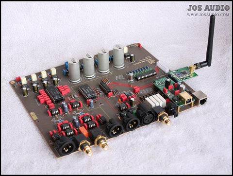 TDA1541 DAC Audio Decoder Board Finished Board