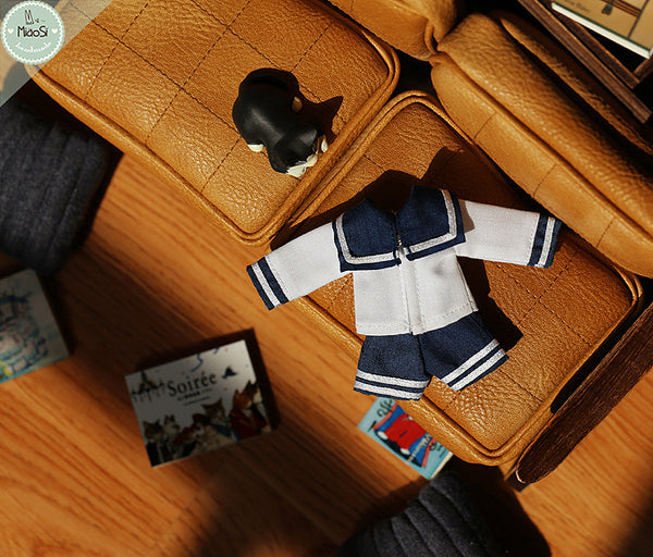 Ob11 baby clothes school uniform gsc clay beauty pig azone twin sailor suit