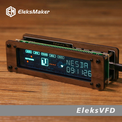Creative Desktop Retro Electronic VFD Fluorescent Tube Clock Decoration Boyfriend Gift