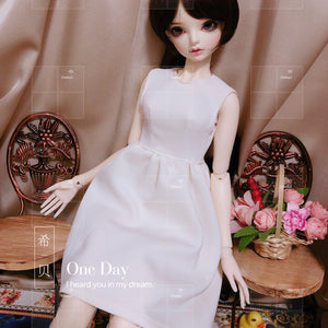 Bjd 1/3, msd doll clothes dress, dress gown