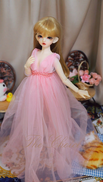 Bjd 1/4, 1/6, 1/3, msd doll clothes dress, gauze, fairy