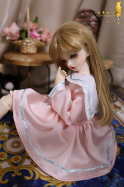 Bjd 1/4, 1/6, 1/3, msd doll clothes dress sailor dress
