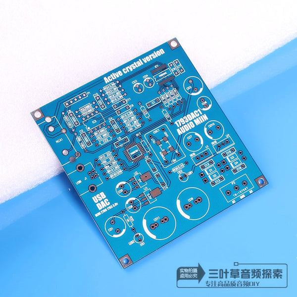 Clover audio original PCM2706+PCM1793 MINI USB DAC PCB empty board