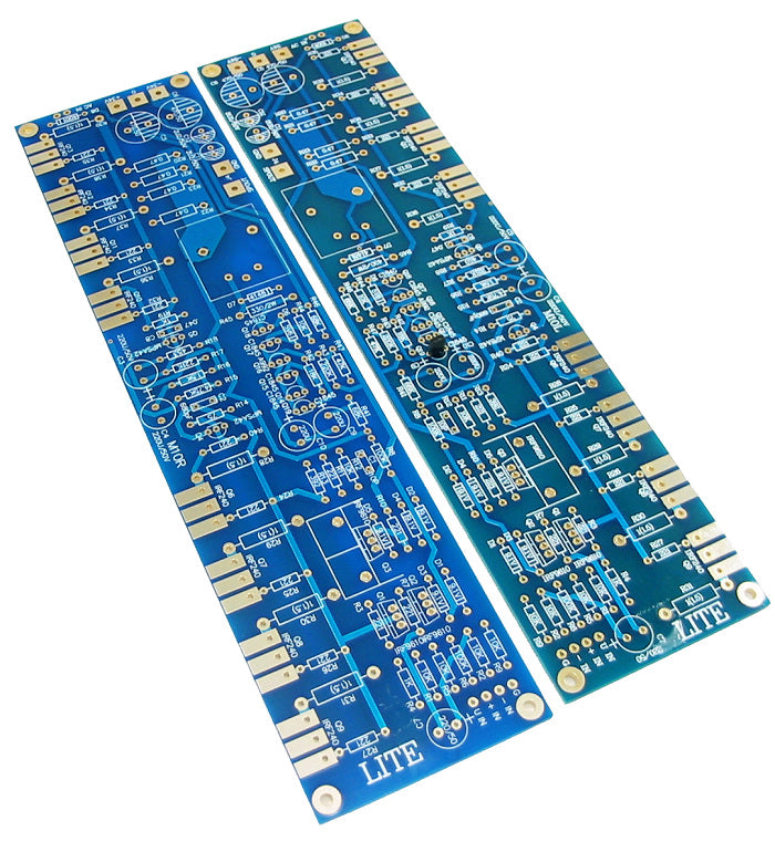 Pure post-amplifier PCB line from