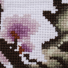 Load image into Gallery viewer, Computerized embroidery cross stitch finished flowers bloom