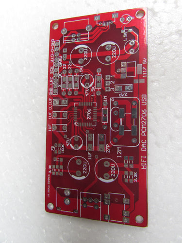 HIFI PCM2706 USB sound card amp DAC OCB empty board, excluding electronic parts