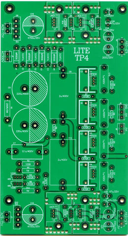 hifiA-transistor regulated power supply