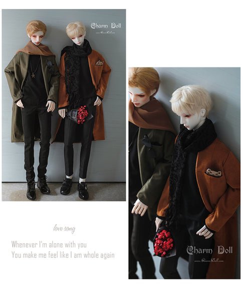 [CharmDoll/CD] BJD baby clothes 71 size Street style coat suit 71YF-B006