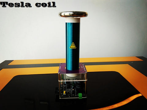 Tesla Coil integrated solid state music