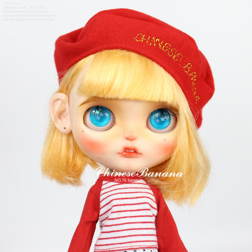 Neo blythe baby clothes, berets, painter hats