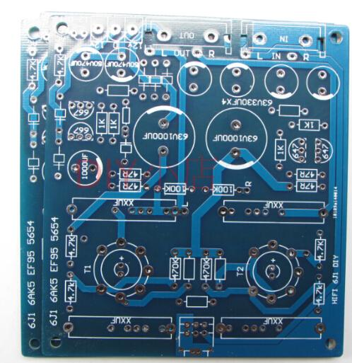 HIFI 6J1 upgrade PCB empty board