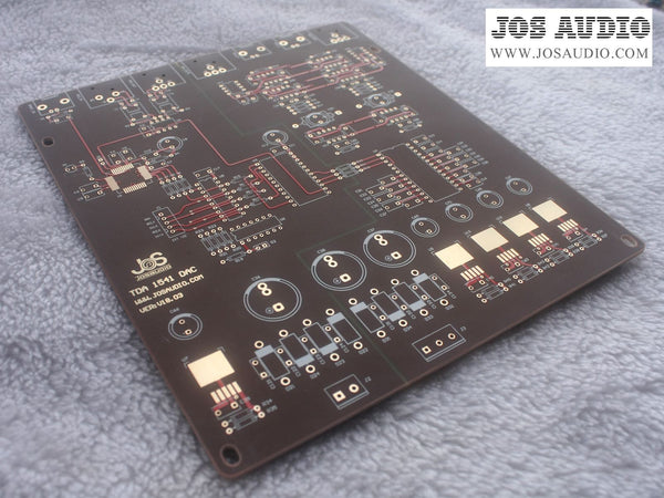 Philips 10th Anniversary TDA1541 DAC Decoder PCB blank board, excluding electronic parts