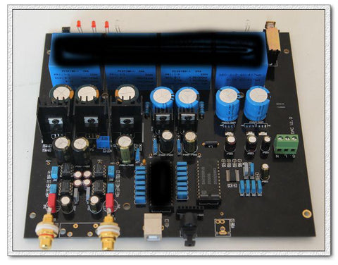 L1541DAC gold TDA1541 decoder, coaxial, fiber optic, USB kit + finished product
