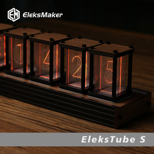 RGB LED 6 Bit  Glow Digital Clock Nixie Tube Clock Kit DIY Electronic Retro