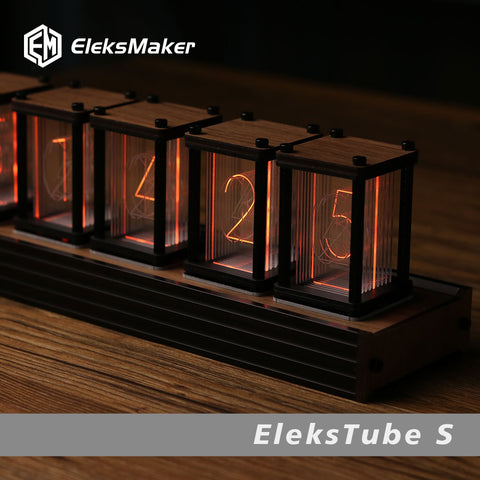 RGB LED 6 Bit  Glow Digital Clock Nixie Tube Clock Kit DIY Electronic Retro Table CockSizes