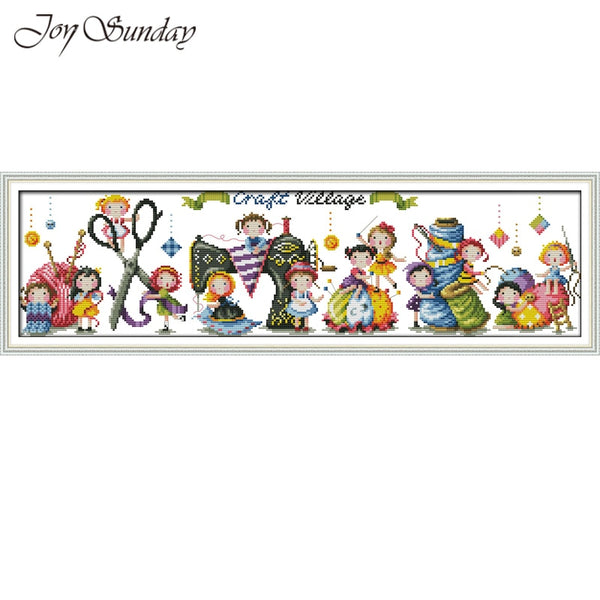 Embroidery kit Needlework set
