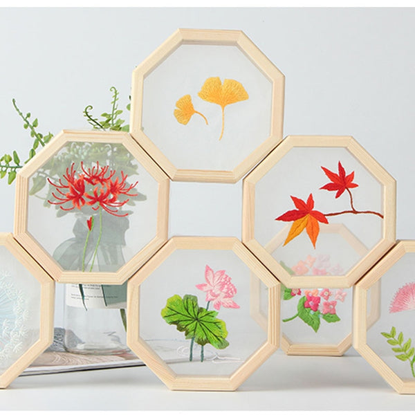 Cross Stitching for Beginner with Frame Art Craft Home Decor