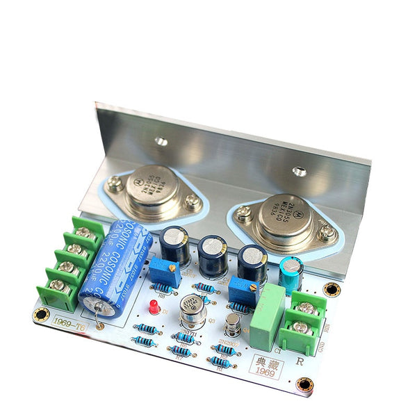 JLH 1969 power Amplifier Board MOT/2N3055 PCB Assembled and diy kit board A2-011