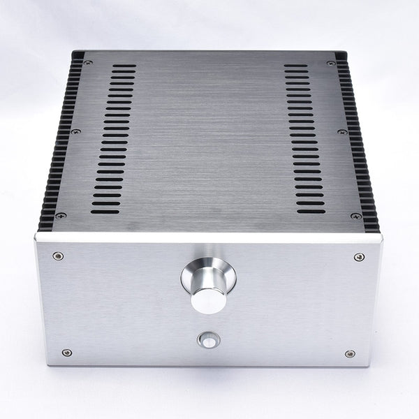 BZ2412B All Aluminum Power Amplifier Chassis 1969 Class Housing Audio Amp Enclosure