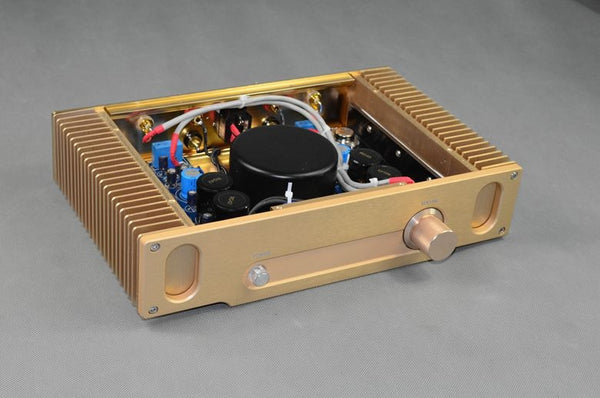 Upgraded version Hood 1969 ON 15024/15025 Gold seal power tube hi-fi fever amplifier finished