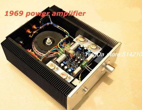 Latest 1969 HIFI class A amplifier
