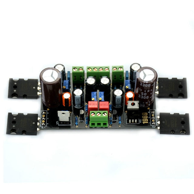 Mini Power Amplifier Professional Audio Board Class A Fever 1969 Stereo Sound Speaker