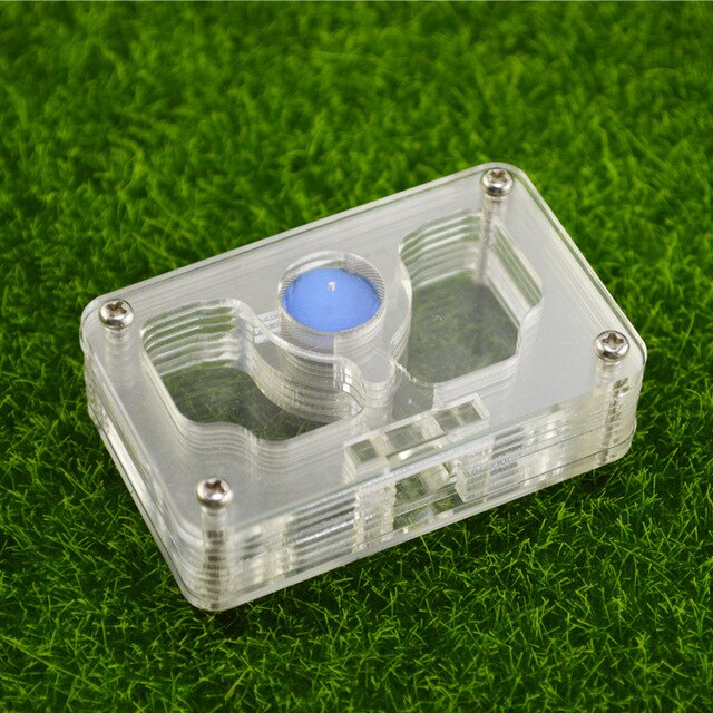 T3 moisture with feeding area ant nest ,ant farm acrylic, insect ant villa pet advanced