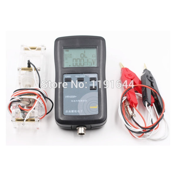 4 Wires Internal Resistance Tester For Max 100V Li-ion/ LiFePo4/ Ni-MH/Lead-Acid Battery