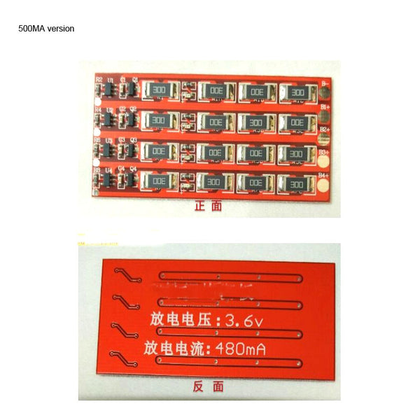 1s 2s 3s 4s cell 3.2V  LiFePo4 Lithium Battery BMS Balance Balanced Current 360mA 500mA 1.5A 7S 8S